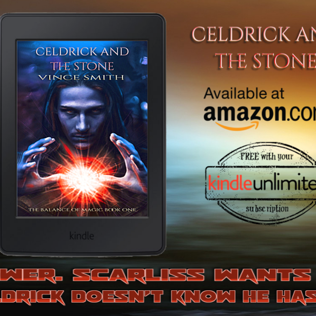 New Book Placard For Celdrick And The Stone